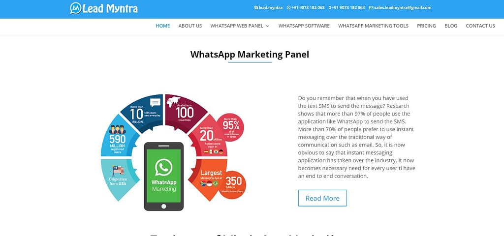 how to send bulk WhatsApp messages
