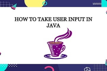 How to take user input in java