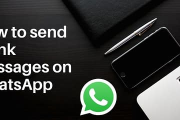 How to Send WhatsApp Bulk Messages For Free 2020