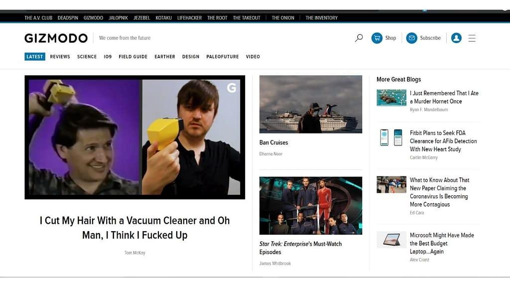 tech website
