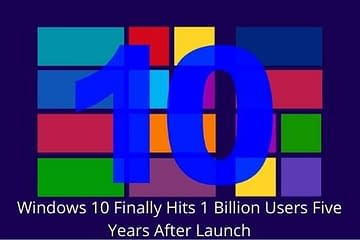 Windows 10 reached to 1 bilion users