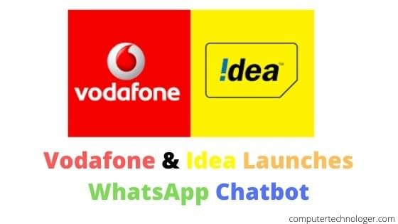 Vodafone & Idea Launches WhatsApp Chatbot